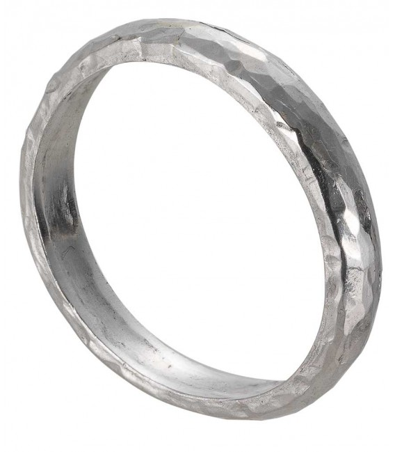 Fede platino martellato